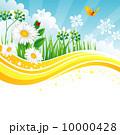 区域 国境 境界線のイラスト 10000428