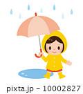 雨具 ベクター 子供のイラスト 10002827