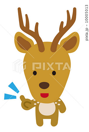鹿【二頭身の動物・シリーズ】 10005013