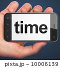 時間 フォン 電話のイラスト 10006139
