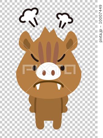 動物キャラクター 10007449