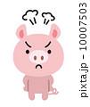 動物キャラクター 10007503