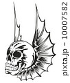 skull with wings 10007582