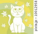 ベクター 猫 もみじのイラスト 10012958