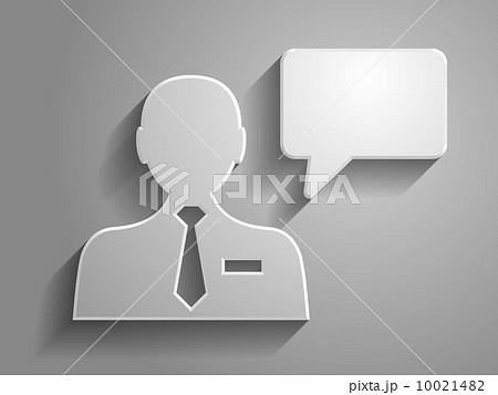3d Vector illustration of communication icon 10021482
