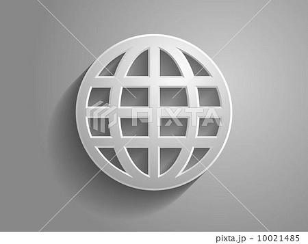 3d Vector illustration of globe icon 10021485