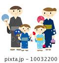 浴衣の家族 10032200