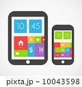 Flat ui design 10043598