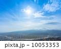 大空 快晴 晴れの写真 10053353