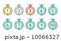 順位 ハンコ ランキングのイラスト 10066327