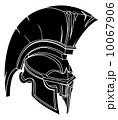 Spartan or trojan helmet 10067906