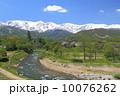 山里 姫川 里山の写真 10076262