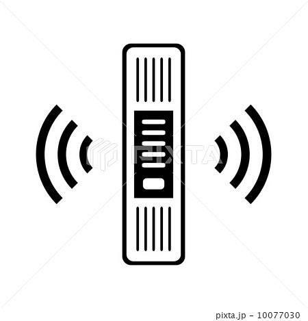 無線lanのイラスト素材 10077030 Pixta