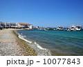 ミコノスタウンの海岸(ディロス島行き船) 10077843