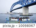 大阪港 千歳渡船場(鶴町側)と千歳橋 10098067