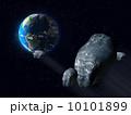衝突 追突事故 アタリのイラスト 10101899