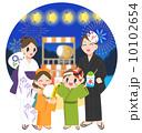 家族で夏祭り 10102654