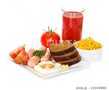 breakfastの写真素材 [10109866] - PIXTA