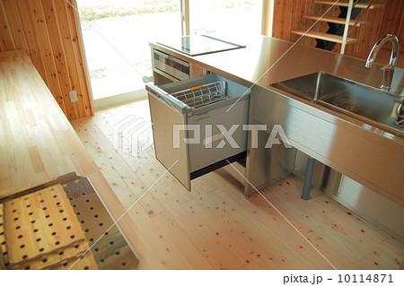 アイランドキッチン ステンレス 食洗機 10114871