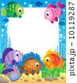 魚 テーマ 主題のイラスト 10119287