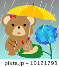 熊 ベクター 梅雨のイラスト 10121793