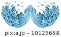 カーブ 要素 元素のイラスト 10126658