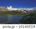 フィッツロイ フィッツ・ロイ山 カプリ湖の写真 10140559