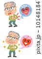 心臓病 心疾患 高齢者のイラスト 10148184