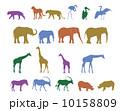 動物 シルエット 10158809