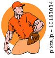 ピッチャー 投手 ピッチングのイラスト 10183034