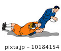 ラグビー フットボール 楽譜のイラスト 10184154