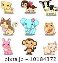 さる サル 猿のイラスト 10184372