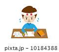 受験生 男の子 勉強のイラスト 10184388