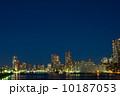 勝鬨橋 夜景 高層ビルの写真 10187053
