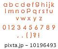 アルファベット小文字 10196493