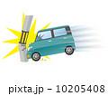 追突 交通事故 衝突のイラスト 10205408