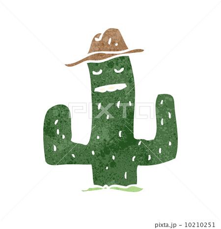 retro cartoon cactusのイラスト素材 [10210251] - PIXTA