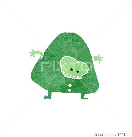 retro cartoon monster manのイラスト素材 [10214509] - PIXTA