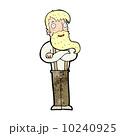 ブレース ヒップスター あごひげを生やしたのイラスト 10240925