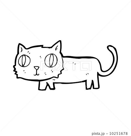 cartoon catのイラスト素材 [10251678] - PIXTA
