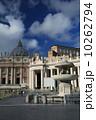 サン・ピエトロ大聖堂 サン・ピエトロ広場 ローマの写真 10262794