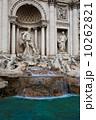 トレビの泉 ローマ 石像の写真 10262821