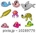 サメ シャーク 鮫のイラスト 10289770