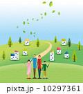 家族 親子 人物のイラスト 10297361