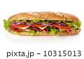 ビーフ 牛肉 バゲットの写真 10315013