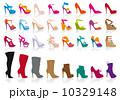 クツ 履き物 履物のイラスト 10329148