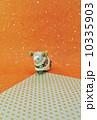 年賀素材 未年 年賀状素材の写真 10335903