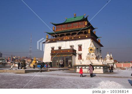 ガンダン寺 モンゴル 10336814