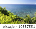 カウアイ島プリンスヴィルから望む海 10337551