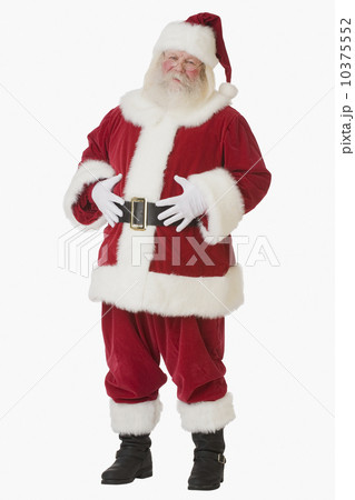 Santa Claus with hands on belly 10375552